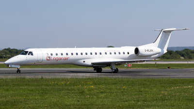 A picture of GRJXH - Embraer ERJ145EP - Loganair - © Charles Cunliffe