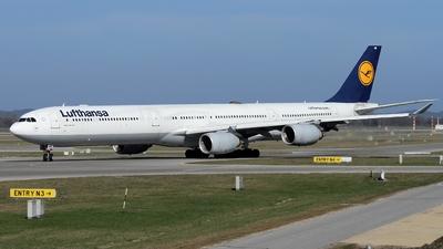 D-AIHA - Airbus A340-642 - Lufthansa