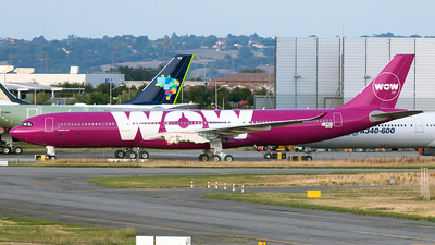 F-WWCU - Airbus A330-941 - WOW Air