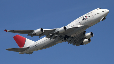 JA8078 - Boeing 747-446 - Japan Airlines (JAL)