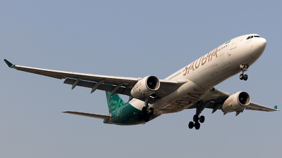 HZ-AQE - Airbus A330-343 - Saudi Arabian Airlines