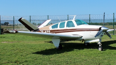 ZS-KCG - Beechcraft V35B Bonanza - Private
