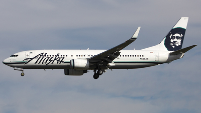 N526AS - Boeing 737-890 - Alaska Airlines