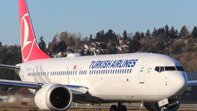 A picture of TCLYB - Boeing 737 MAX 9 - Turkish Airlines - © Huy Do
