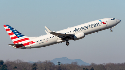 A picture of N892NN - Boeing 737823 - American Airlines - © Yan777