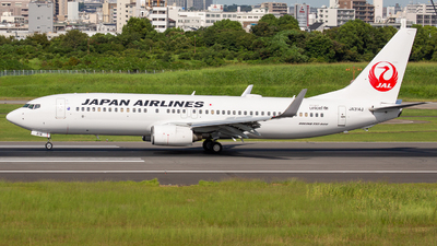 JA314J - Boeing 737-846 - Japan Airlines (JAL)