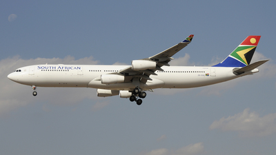 ZS-SXE - Airbus A340-313X - South African Airways