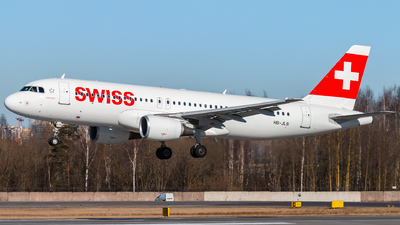 A picture of HBJLS - Airbus A320214 - Swiss - © KomradAlexey