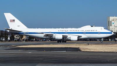 73-1677 - Boeing E-4B - United States - US Air Force (USAF)