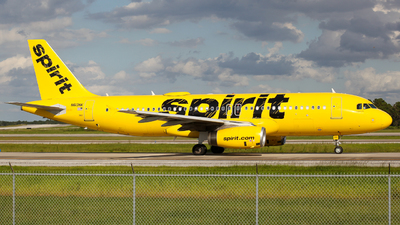 N613NK - Airbus A320-232 - Spirit Airlines
