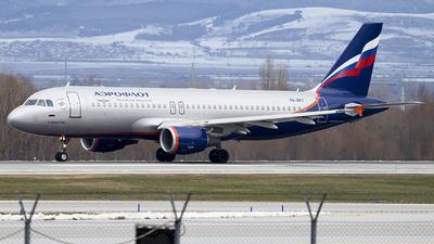 VQ-BKT - Airbus A320-214 - Aeroflot