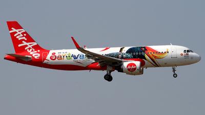 9M-AJD - Airbus A320-216 - AirAsia