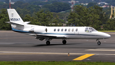 N555KT - Cessna 560 Citation Ultra - Private