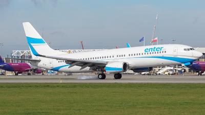 A picture of SPENQ - Boeing 73785R - Enter Air - © Filip Danielczyk