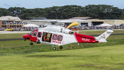 A picture of VHSYZ - AgustaWestland AW139 - CHC Helicopters Australia - © Mach One Aeromedia