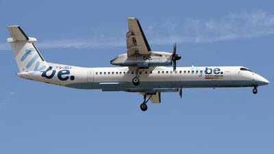A picture of GJECJ - De Havilland Canada Dash 8400 - [4110] - © Martin Robson