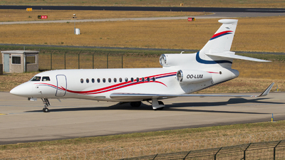 OO-LUM - Dassault Falcon 7X - Belgium - Air Force