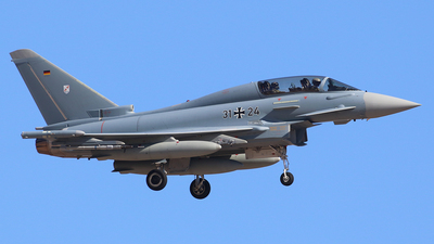 31-24 - Eurofighter Typhoon EF2000(T) - Germany - Air Force