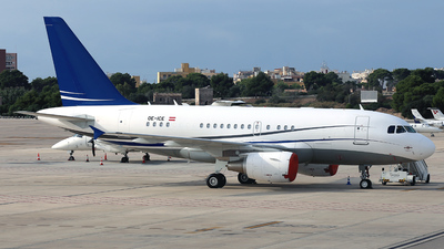 OE-ICE - Airbus A318-112(CJ) Elite - Avcon Jet