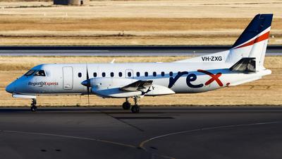 A picture of VHZXG - Saab 340B - Regional Express - © Chow Kin Hei - AHKGAP