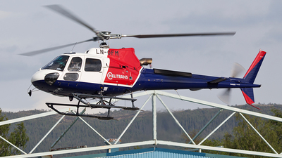 LN-OFM - Eurocopter AS 350B3 Ecureuil - Helitrans