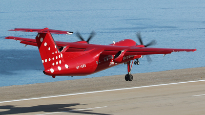 A picture of OYGRG - De Havilland Canada Dash 8200 - Air Greenland - © Arno Vesterholm