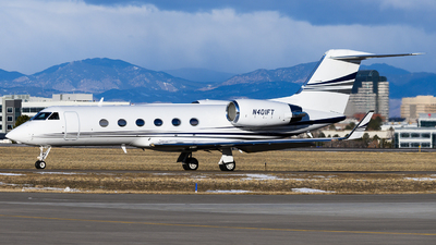 N401FT - Gulfstream G400 - Private
