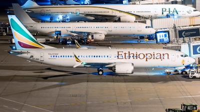 A picture of ETAVK - Boeing 737 MAX 8 - Ethiopian Airlines - © Enda Burke