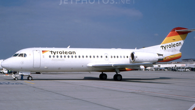 OE-LFK - Fokker 70 - Tyrolean Airways