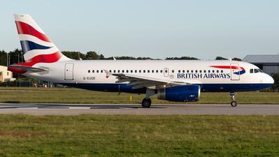 A picture of GEUOE - Airbus A319131 - British Airways - © Thomas Masterman
