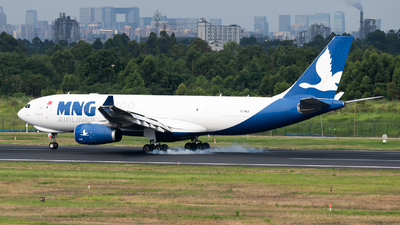 A picture of TCMCZ - Airbus A330243F - MNG Airlines - © Lazy Clutch