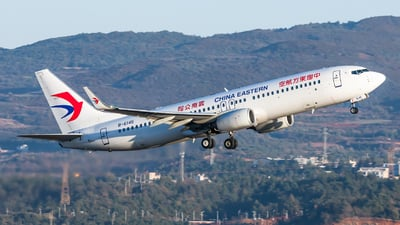 A picture of B6145 - Boeing 73789P - China Eastern Airlines - © Lazy Clutch