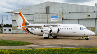 A picture of GSMLA - BAe 146200 - [E2047] - © m1dlands_aviation_