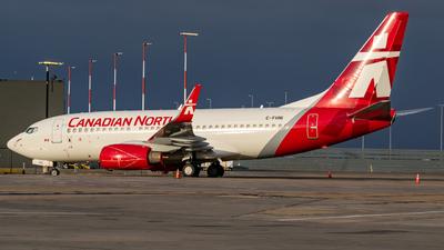 C-FHNI - Boeing 737-7CT - Canadian North