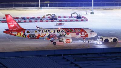 A picture of HSABD - Airbus A320216 - AirAsia - © Kevin Chung - AHKGAP