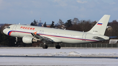 VQ-BBM - Airbus A320-214 - Rossiya Airlines
