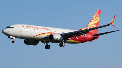 A picture of B1997 - Boeing 73784P - Hainan Airlines - © KirkXWB