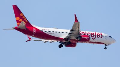 A picture of VTMXH - Boeing 737 MAX 8 - SpiceJet - © Mehdi Nazarinia - MehdiPhotos.com