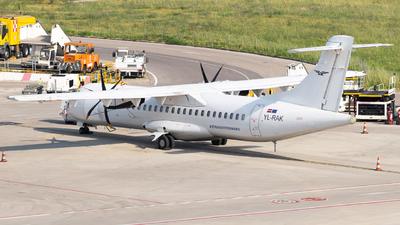 YL-RAK - ATR 72-212A(500)(F) - Raf-Avia Airlines