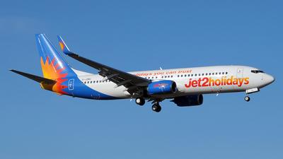 A picture of GJZBC - Boeing 7378MG - Jet2 - © Paul Denton