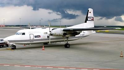 D-ADEP - Fokker F27-600 Friendship - WDL Aviation