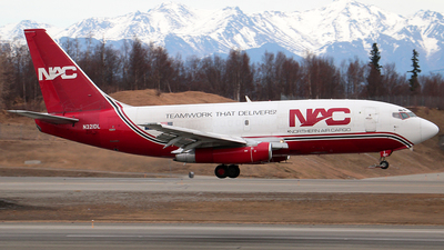 N321DL - Boeing 737-232(Adv)(F) - Northern Air Cargo (NAC)