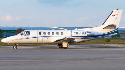 YU-TUU - Cessna 550B Citation Bravo - Air Pink