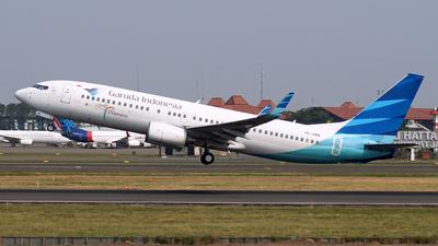 PK-GMN - Boeing 737-8U3 - Garuda Indonesia