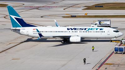 C-GWBL - Boeing 737-8CT - WestJet Airlines