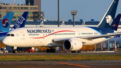 N783AM - Boeing 787-8 Dreamliner - Aeroméxico