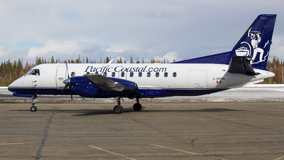 C-GPCN - Saab 340A - Pacific Coastal Airlines