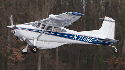 N714HE - Cessna A185F Skywagon - Private