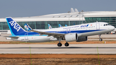 JA213A - Airbus A320-271N - All Nippon Airways (ANA)