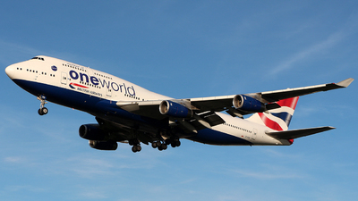G-CIVD - Boeing 747-436 - British Airways